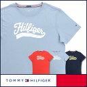 【郵送160円】セール!34%OFFTOMMY HILFIGER|トミーヒルフィガーORGANIC COTTON LOGO TEEクルーネック 半袖 Tシャツ 綿100%(オーガニックコットン) 53