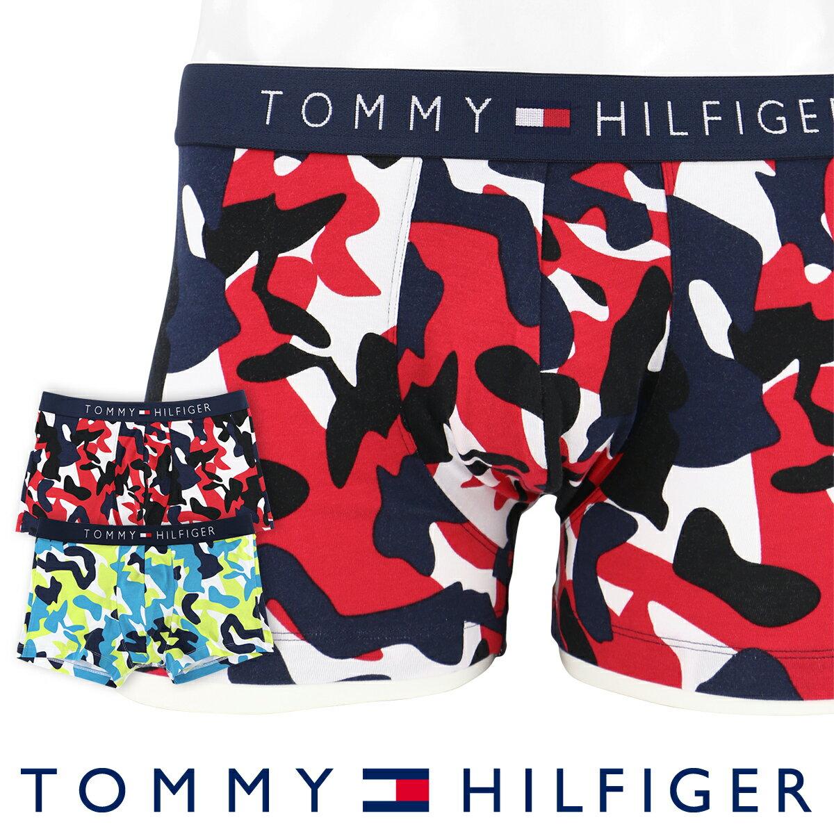 【郵送160円】TOMMY HILFIGER|トミーヒルフィガーアンダーウェア ボクサーパンツTRUNK CAMOカモフラージュプリント コットン ボクサーパンツ5337-0171男性 下着 メンズ プレゼント ギフト 誕生日