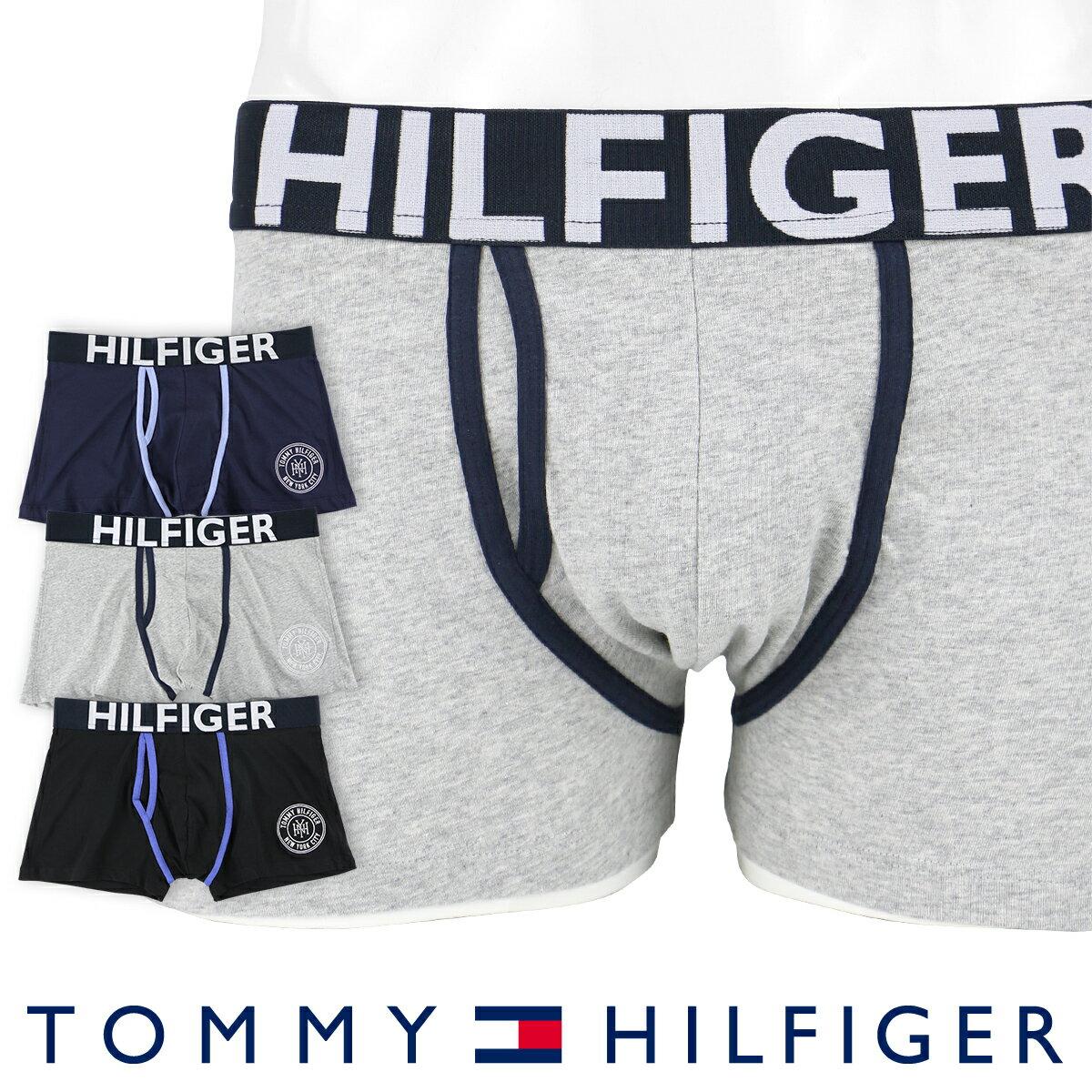 【郵送160円】TOMMY HILFIGER|トミーヒルフィガーアンダーウェア ボクサーパンツKEY HOLE TRUNKコットン ボクサーパンツ5337-0210男性 下着 メンズ プレゼント ギフト 誕生日 父の日