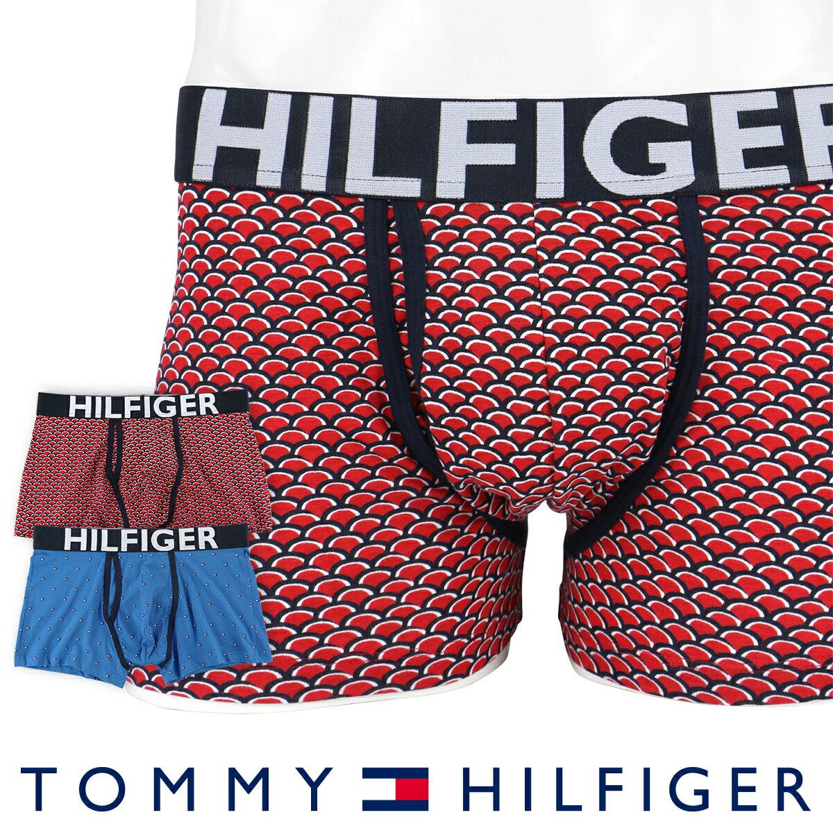 セール!50%OFFTOMMY HILFIGER トミーヒルフィガーアンダーウェア ボクサーパンツKEY HOLE TRUNK PRINTコットン ボクサーパンツ男性 メンズ プレゼント 贈答 ギフト5337-0212ポイント10倍