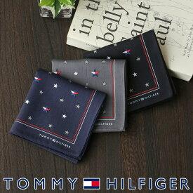 TOMMY HILFIGER トミーヒルフィガー綿100% ハンカチ 星フラッグ プレゼント 贈答 ギフト02582158