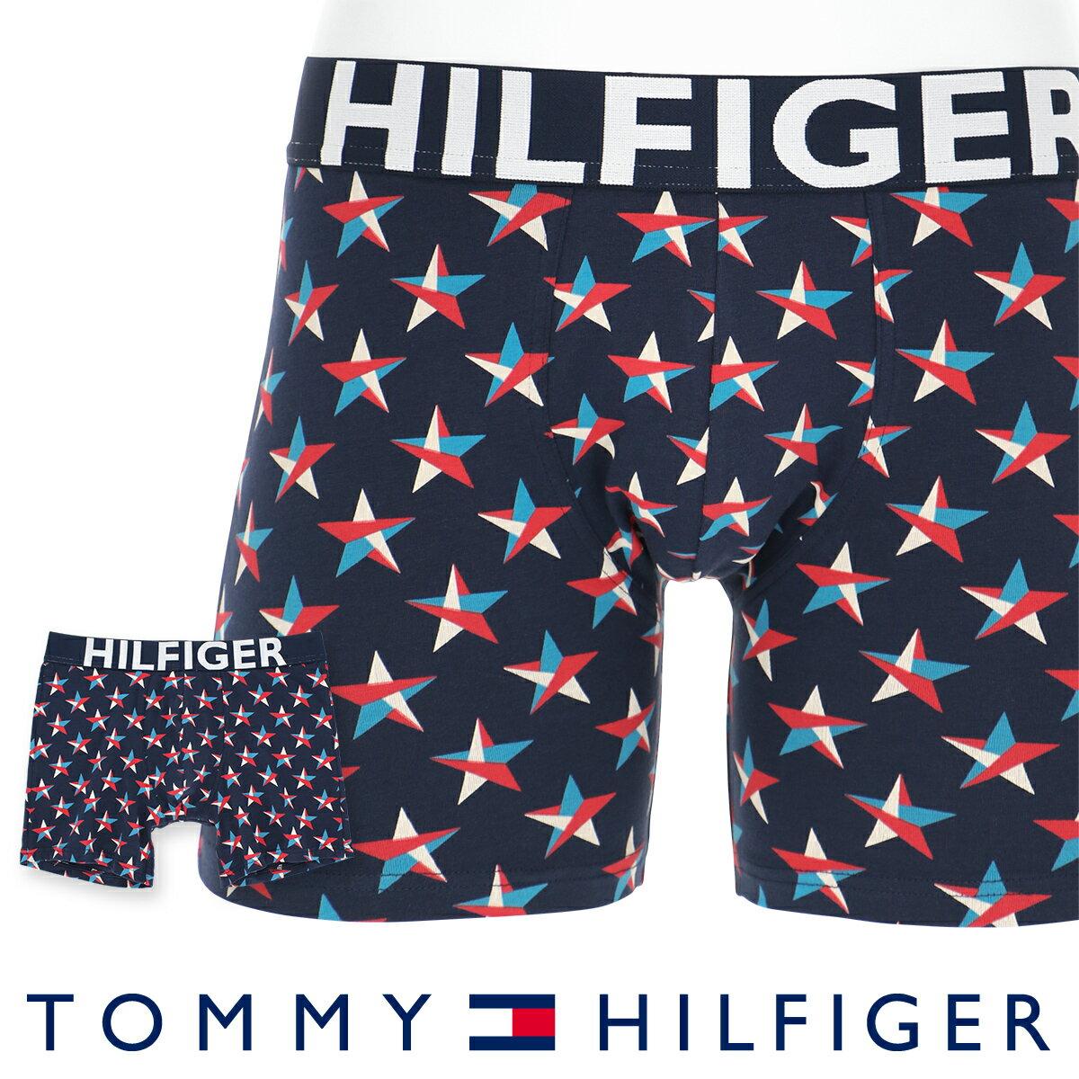 TOMMY HILFIGER|トミーヒルフィガーHILFIGER CTN BOXER BRIEF COLOR STARSヒルフィガー カラースターズ コットン ロングボクサーパンツ5338-0740男性 下着 メンズ プレゼント ギフト 誕生日ポイント10倍