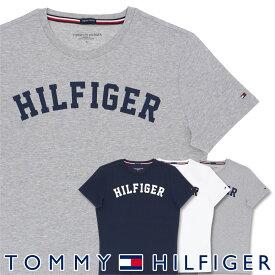 TOMMY HILFIGER|トミーヒルフィガークルーネック 半袖 ロゴ Tシャツ綿 オーガニックコットン 100%男性 メンズ プレゼント 贈答 ギフト5339-0054ポイント10倍