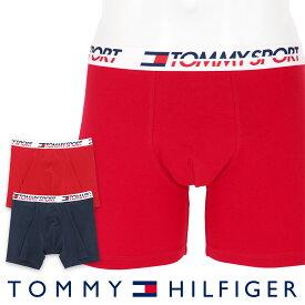 【2枚組セット】TOMMY HILFIGER トミーヒルフィガーTOMMY SPORT COTTON 2P BOXER BRIEF CORE トミー スポーツ コットン 2枚組 ボクサーパンツ5339-1230男性 メンズ プレゼント 贈答 ギフト