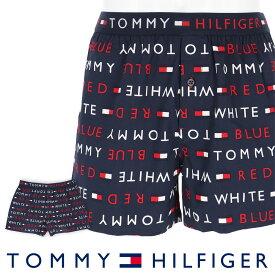 TOMMY HILFIGER トミーヒルフィガーTOMMY REMIX COTTON WOVEN BOXER LOGO トミー リミックス コットン ウーブン ボクサー ロゴ トランクス5339-1373男性 メンズ プレゼント 贈答 ギフト