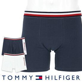 【2枚組セット】 TOMMY HILFIGER トミーヒルフィガーTOMMY SPORT COTTON 2P BOXER BRIEF FASHION トミー スポーツ コットン 2枚組 ファッション ボクサーパンツ5339-1443男性 メンズ プレゼント 贈答 ギフト