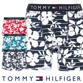 TOMMY HILFIGER|トミーヒルフィガーTOMMY ORIGINAL COTTON BUTTONFLY BOXER BRIEF FLOWER PRINT トミー オリジナル コットン ボタンフライ ボクサー ブリーフ フラワー プリント ボクサーパンツ5339-1451男性 メンズ プレゼント 贈答 ギフト