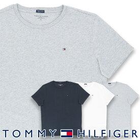TOMMY HILFIGER トミーヒルフィガーCOTTON TEE SS LOGO FLAG ICON コットン100% ワンポイント ロゴ 半袖 Tシャツ男性 メンズ プレゼント 贈答 ギフト5339-4671