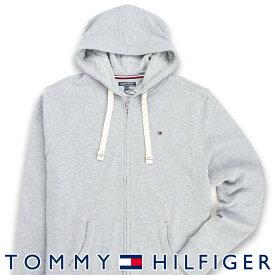 TOMMY HILFIGER|トミーヒルフィガーZIP THRU HOODY ワンポイント ロゴ ジップアップ パーカー男性 メンズ プレゼント 贈答 ギフト5339-5806