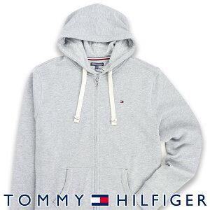 TOMMY HILFIGER トミーヒルフィガーZIP THRU HOODY ワンポイント ロゴ ジップアップ パーカー男性 メンズ プレゼント 贈答 ギフト5339-5806