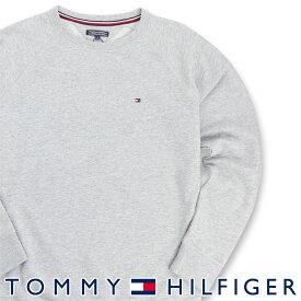 TOMMY HILFIGER|トミーヒルフィガーICON HWK TRACK TOP LSワンポイント ロゴ クルーネック 長袖 スウェットシャツ トレーナー男性 メンズ プレゼント 贈答 ギフト5339-5827