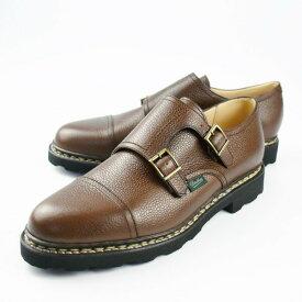 PARABOOT パラブーツ 981435/WILLIAM NOIRE-GREBENE/ブラウン/ウィリアム/ダブルモンク/レザーシューズ/靴/メンズ