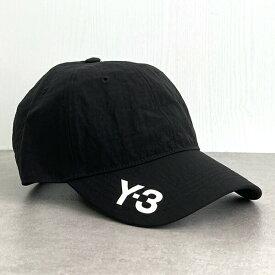 Y-3 ワイスリー ヨウジヤマモト GK3127 Y-3 CH1 CAP キャップ 帽子 BLACK/ブラック メンズ/レディース/ユニセックス/ペアルック