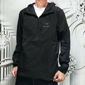 ARC'TERYX アークテリクス ナイロンジャケット Squamish Hoody 25172 BLACK スコーミッシュ ナイロンパーカー メンズ