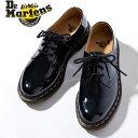 ドクターマーチン レディース 3ホールシューズ 1461パテント Dr.MARTENS 3EYE SHOES 1461 PATENTおじ靴 レースアップ…
