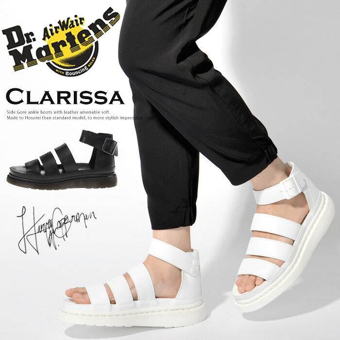 ドクターマーチン Dr.Martens Clarissa サンダル シューズ レディース グラディエーターチャンキー ストラップ ベルト レザー クラリッサ | 靴 かわいい おしゃれ シューズ ブランド 大人 レディースシューズ マーチン レディースサンダル