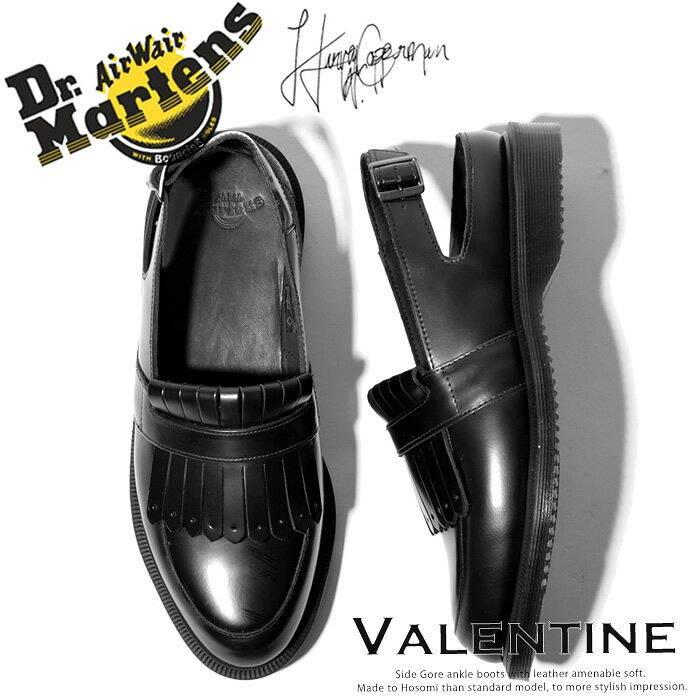 ドクターマーチン Dr.Martens Valentine サンダル シューズ レディース スリッパローファー タッセル バックストラップ レザー バレンタイン | 靴 かわいい おしゃれ シューズ ブランド 大人 レディースシューズ マーチン レディース