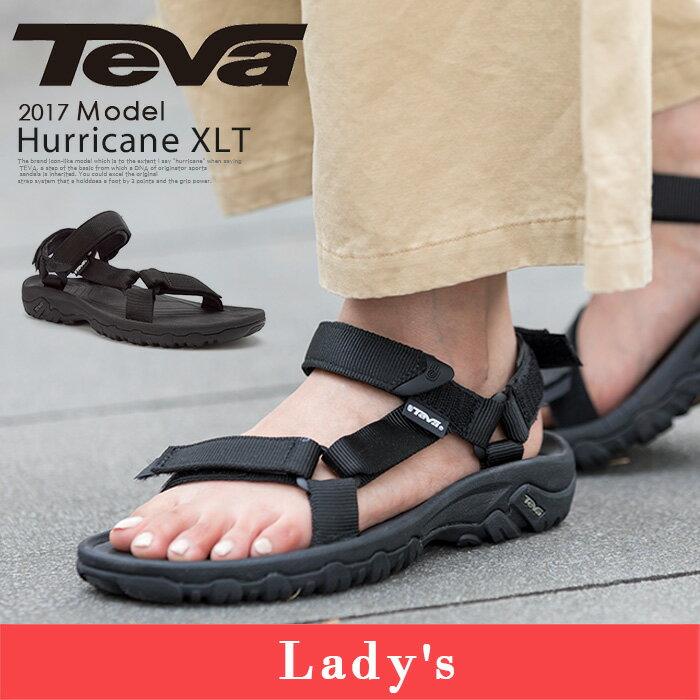 TEVA ハリケーン teva レディース サンダル テヴァ テバ Women 4176 Hurricane XLT スポーツサンダル 靴 ブラック 黒 かわいい おしゃれ シューズ ブランド 大人スポサン スポーツ|テバサンダル さんだる ストラップサンダル ストラップ