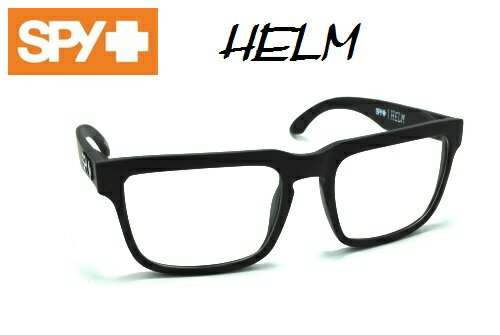 ★SPY★スパイ★HELM★MATTE BLACK-CLEAR★サングラス