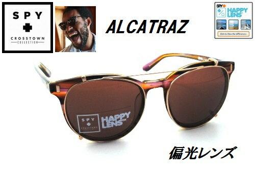 ★SPY★スパイ★CROSSTOWN ALCATRAZ★PINKSUNSET-HAPPY BRONZE(ROSE GOLD CLIP)★サングラス