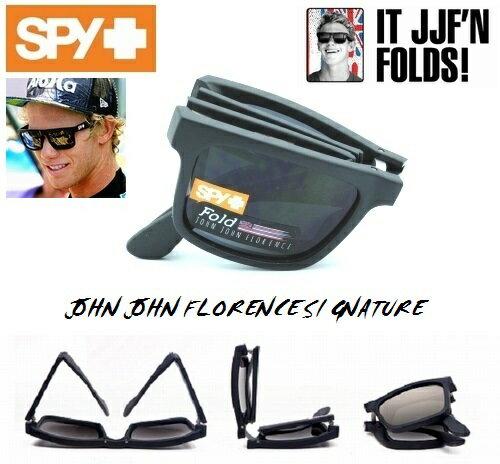 ★SPY★スパイ★THE FOLD★JOHN JOHN FLORENCE★MATTE BLACK-GREY★サングラス