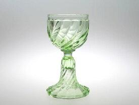 バカラ グラス ● バンブー ワイン グラス 13cm グリーン 緑 クリスタル Bambou