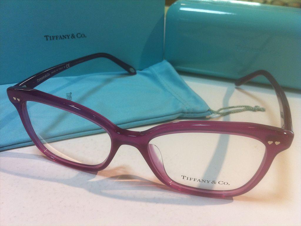 TIFFANY&CO.(ティファニー)TF2155-F 8235(パープル) 54サイズメガネフレーム(セルフレーム)有名ブランドメガネフレーム