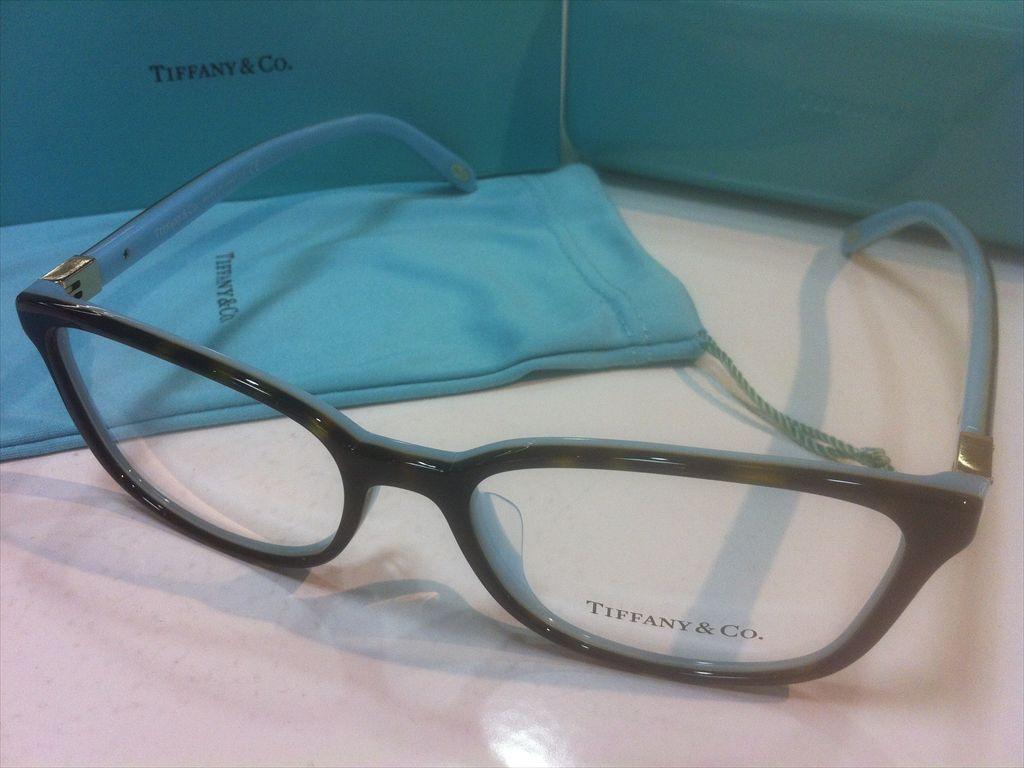 TIFFANY&CO.(ティファニー)TF2094-F 8134(デミブラウン/ゴールド/ティファニーブルー)54サイズメガネフレーム(セルフレーム)有名ブランドメガネフレーム