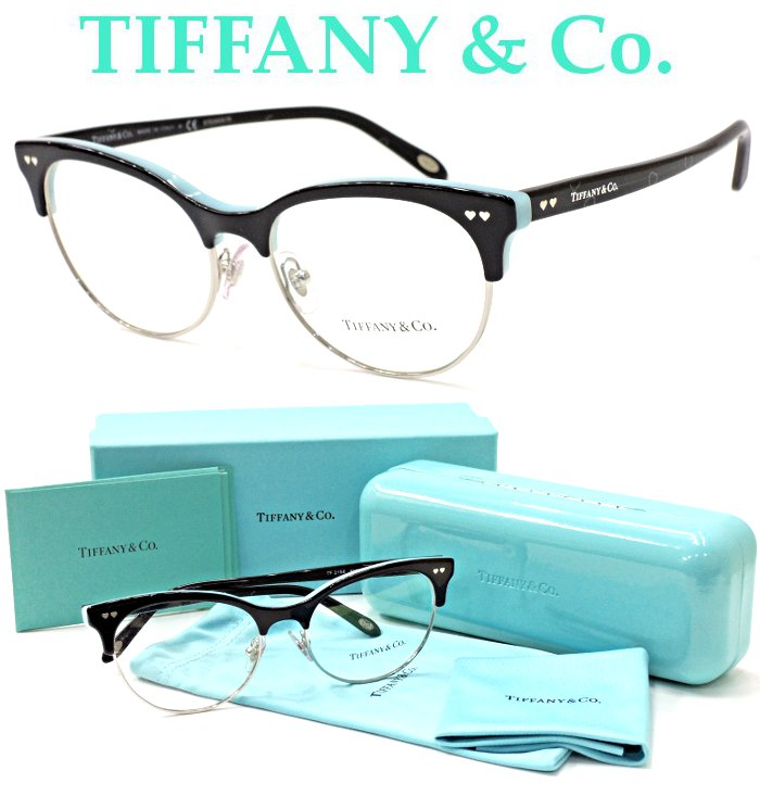 【TIFFANY&Co.】 ティファニー メガネ TF2156 col.8055 度付又は度無レンズ標準装備 【正規代理店商品】【店内全品送料無料】
