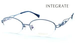 【INTEGRATE】インテグレイト IGF-8126 col.3 メガネ 度付又は度無レンズセット 【正規品】【送料無料】メンズ レディース ユニセックス ブランド ボストン おしゃれ