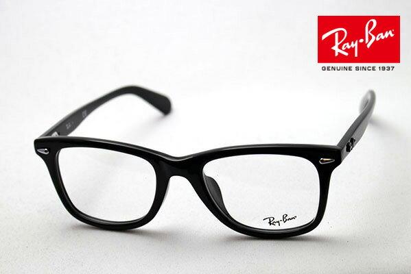 年中無休 18時注文までは全国翌日お届け レイバン メガネ フレーム Ray-Ban RX5317F 2000 伊達メガネ 度付き ブルーライト ブルーライトカット 眼鏡 RayBan レア度が高い廃盤モデル