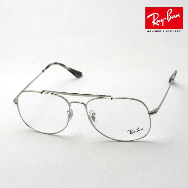 正規レイバン日本最大級の品揃え レイバン メガネ フレーム ジェネラル Ray-Ban RX6389 2501 伊達メガネ 度付き ブルーライト ブルーライトカット 眼鏡 アビエーター RayBan NewModel ティアドロップ