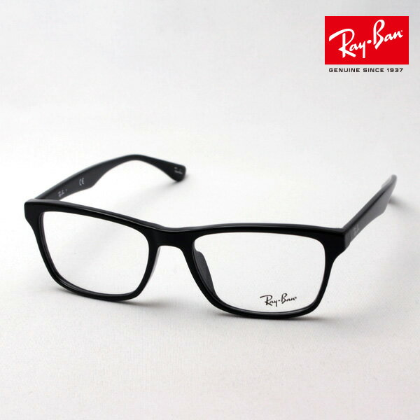 正規レイバン日本最大級の品揃え レイバン メガネ フレーム Ray-Ban RX5279F 2000 伊達メガネ 度付き ブルーライト カット 眼鏡 黒縁 RayBan ウェリントン
