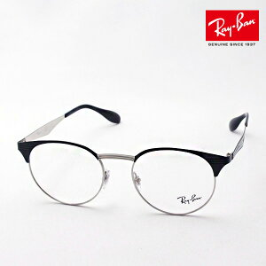 プレミア生産終了モデル 正規レイバン日本最大級の品揃え レイバン メガネ フレーム Ray-Ban RX6406 2861 伊達メガネ 度付き ブルーライト カット 眼鏡 丸メガネ 黒縁 RayBan ラウンド