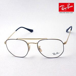 正規レイバン日本最大級の品揃え レイバン メガネ フレーム マーシャル Ray-Ban RX3648V 2946 伊達メガネ 度付き 眼鏡 メタル ダブルブリッジ RayBan スクエア ゴールド系