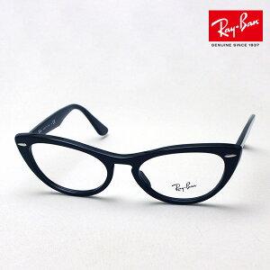 NewModel 正規レイバン日本最大級の品揃え レイバン メガネ フレーム ニナ Ray-Ban RX4314V 2000 伊達メガネ 度付き ブルーライト カット 眼鏡 黒縁 RayBan Made In Italy フォックス ブラック系