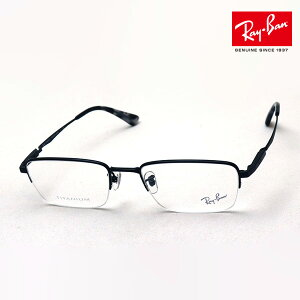 NewModel 正規レイバン日本最大級の品揃え レイバン メガネ フレーム Ray-Ban RX8763D 1210 伊達メガネ 度付き ブルーライト カット 眼鏡 メタル 黒縁 RayBan Made In Japan ハーフリム ブラック系