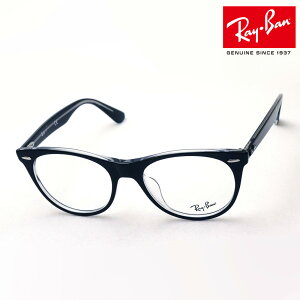 NewModel 正規レイバン日本最大級の品揃え レイバン メガネ フレーム ウェイファーラー Ray-Ban RX2185VF 2034 伊達メガネ 度付き 眼鏡 黒縁 RayBan ウェリントン ブラック系