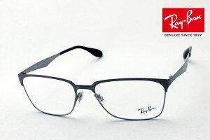 プレミア生産終了モデル 正規レイバン日本最大級の品揃え レイバン メガネ フレーム Ray-Ban RX6344 2553 伊達メガネ 度付き ブルーライト カット 眼鏡 メタル RayBan ウェリントン
