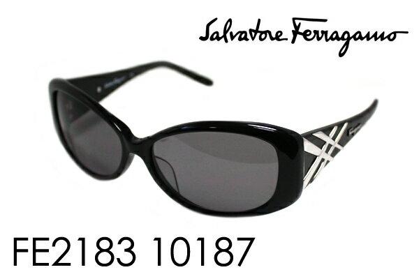 【Ferragamo】 フェラガモ サングラス DEAL FE2183 10187 シェイプ