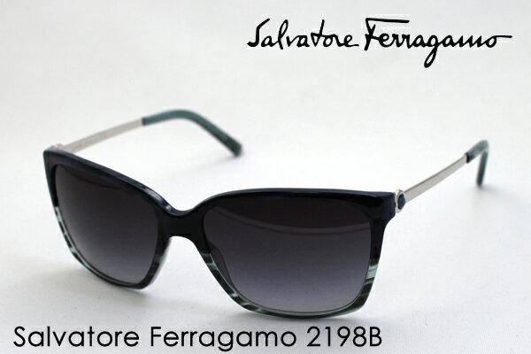 【Ferragamo】 フェラガモ サングラス FE2198B 7488G シェイプ