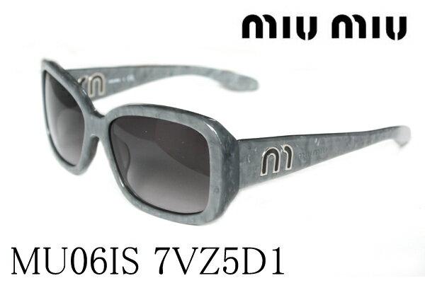 SALE特価 【miumiu】 ミュウミュウ サングラス MU06IS 7ZV5D1 レディース ケースなし