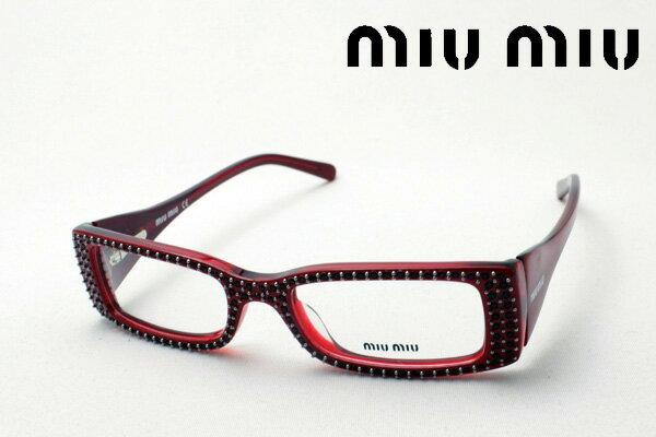 SALE特価 【miumiu】 ミュウミュウ メガネ MU09CVA 4AK1O1 伊達メガネ 度付き ブルーライト ブルーライトカット 眼鏡 miumiu ケースなし シェイプ