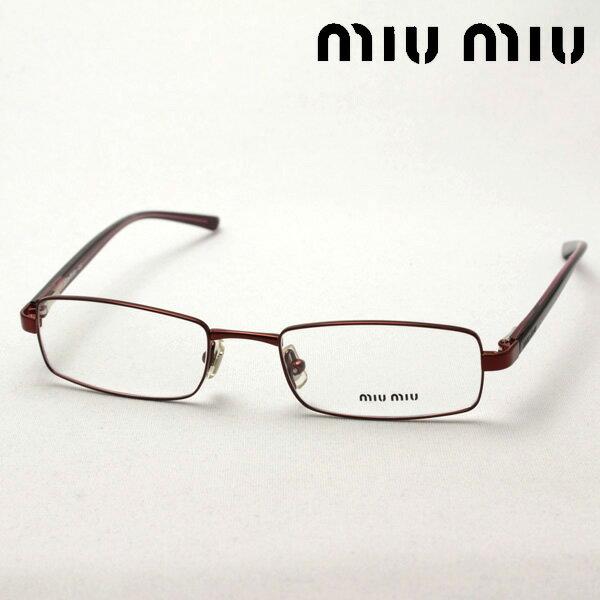 SALE特価 1月20日(日)午前9時59分終了 ほぼ全品ポイント15倍 【ミュウミュウ メガネ 正規販売店】 miumiu MU59CV 8AZ1O1 伊達メガネ 度付き ブルーライト カット 眼鏡 miumiu ケースなし スクエア