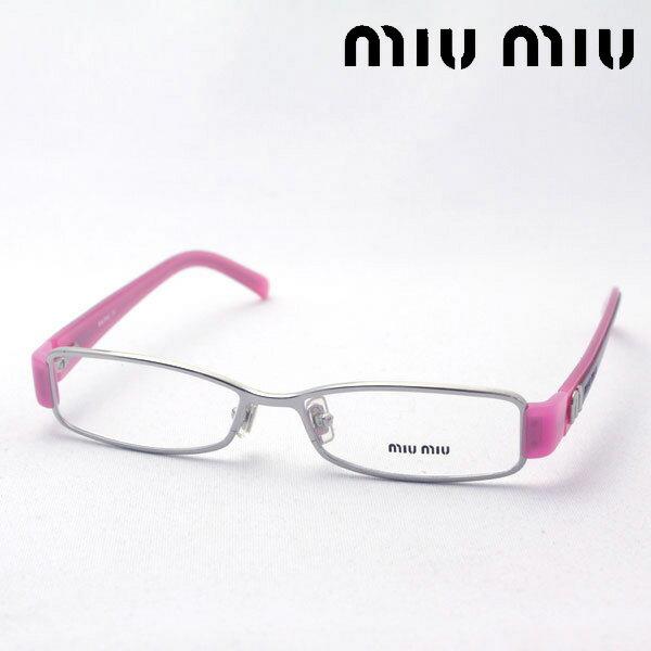 SALE特価 今夜23時59分終了 ほぼ全品がポイント15〜20倍+3倍 【ミュウミュウ メガネ 正規販売店】 miumiu MU60EV 1BC1O1 伊達メガネ 度付き ブルーライト ブルーライトカット 眼鏡 ケースなし シェイプ