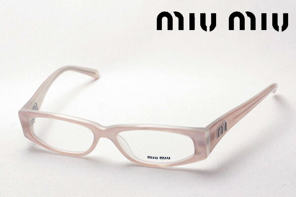 SALE特価 【miumiu】 ミュウミュウ メガネ MU02FV 7UB1O1 伊達メガネ 度付き ブルーライト ブルーライトカット 眼鏡 ケースなし