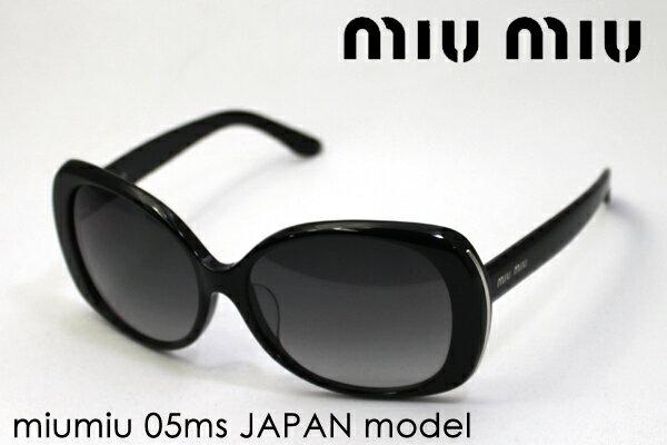 【miumiu】 ミュウミュウ サングラス MU05MS 1AB3M1 レディース シェイプ