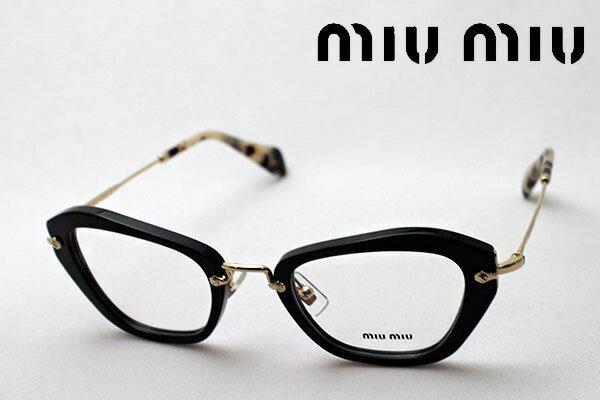 明日の朝9時59分終了 ほぼ全品20〜25%ポイントバック 【miumiu】 ミュウミュウ メガネ MU05NV 1AB1O1 伊達メガネ 度付き ブルーライト ブルーライトカット 眼鏡 miumiu フォックス