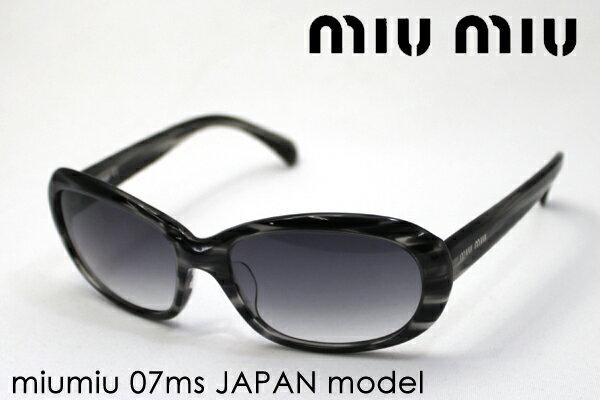 本日の朝9時59分終了です ほぼ全品ポイント15〜20倍+3倍 【miumiu】 ミュウミュウ サングラス MU07MS AC73M1 レディース シェイプ