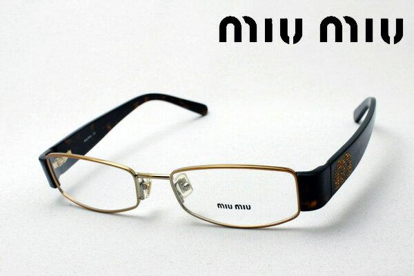 SALE特価 明日の朝9時59分終了 ほぼ全品20〜25%ポイントバック 【miumiu】 ミュウミュウ メガネ MU51FV 7OE1O1 伊達メガネ 度付き ブルーライト ブルーライトカット 眼鏡 ケースなし シェイプ